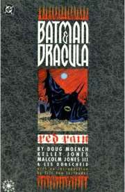 Book Cover of Batman & Dracula: Red Rain