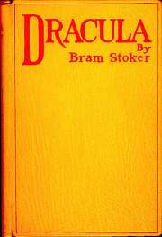Book Cover of Bram Stoker's Dracula