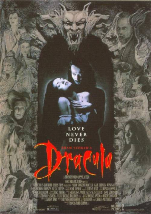 Movie Posters 1992 Dracula 1992 Movie Poster