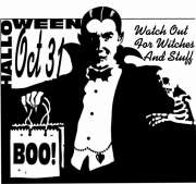 Halloween Count Dracula Poster Picture
