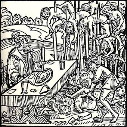 Vlad the Impaler Germanic illustration